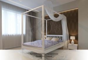 Кровать Сиена с балдахином