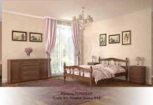 Кровать Точеная